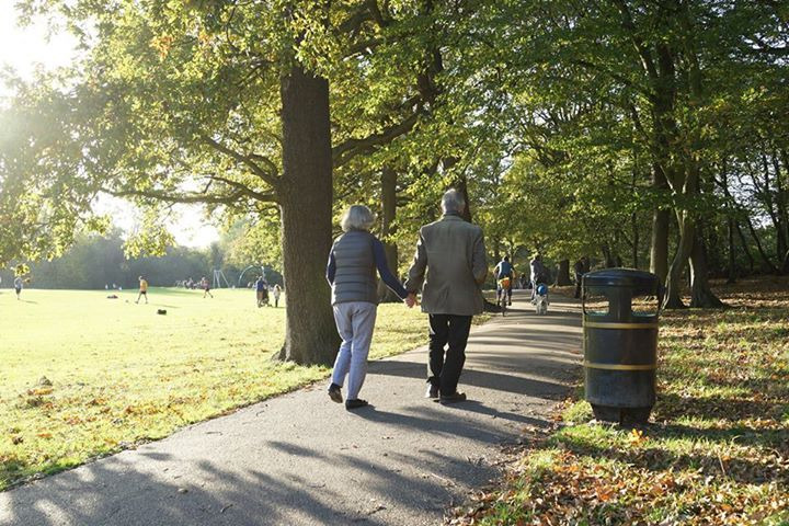 ロンドン北部の公園